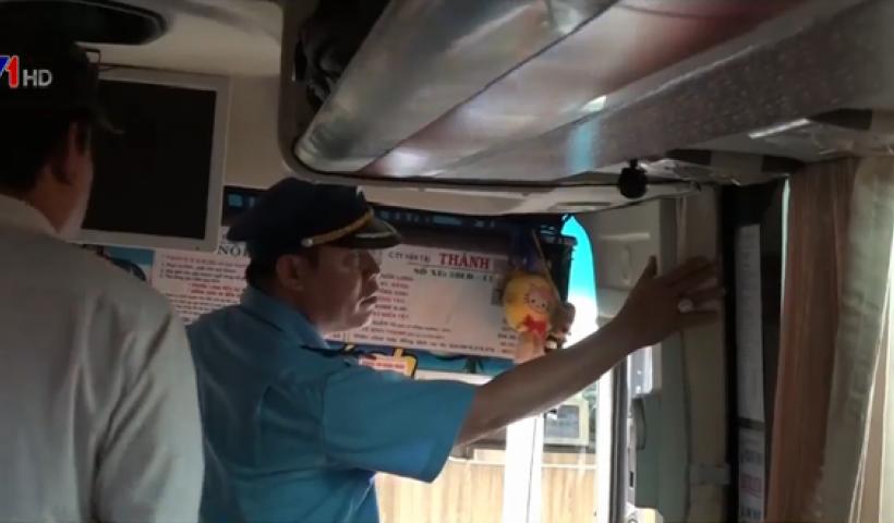 Tổng cục Đường bộ Việt Nam yêu cầu đẩy nhanh việc lắp camera giám sát trên xe khách
