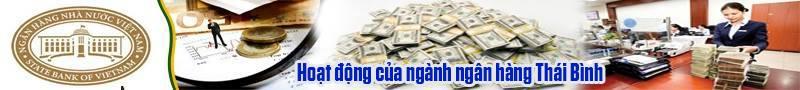 Hoạt động của ngành Ngân hàng Thái Bình