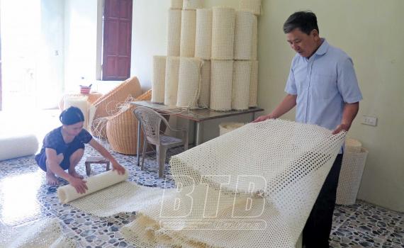 Thượng Hiền: Làng nghề hối hả quanh năm