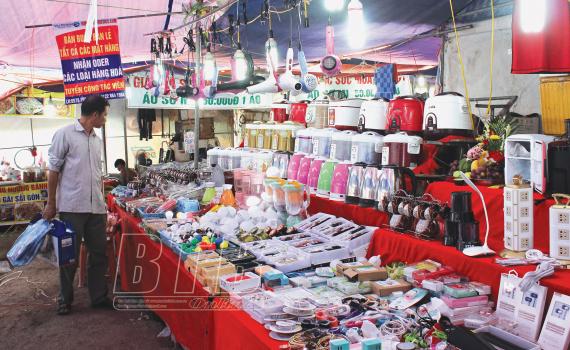 Tiền Hải phát triển chợ nông thôn