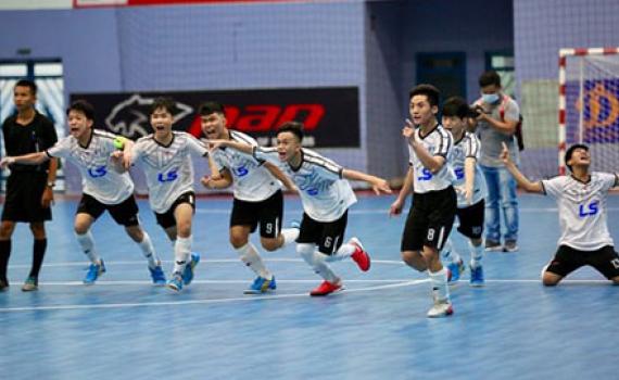 CLB Thái Sơn Nam tuyển sinh năng khiếu futsal