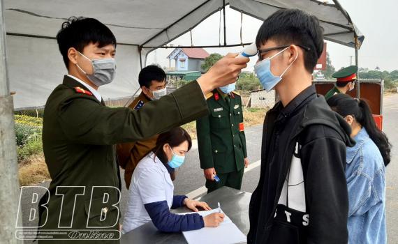 Công văn số 572/UBND-KGVX của UBND tỉnh về việc tích cực rà soát, lấy mẫu xét nghiệm, giám sát sức khỏe người về từ huyện Cẩm Giàng, Hải Dương