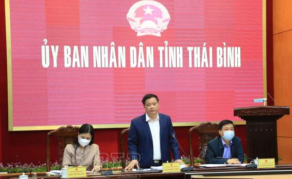 UBND tỉnh cho ý kiến về kế hoạch triển khai công tác lập quy hoạch tỉnh Thái Bình thời kỳ 2021 - 2030, tầm nhìn đến năm 2050