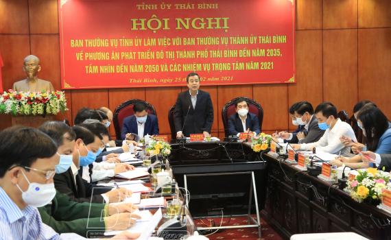Xây dựng, phát triển thành phố Thái Bình đến năm 2025 trở thành đô thị loại I