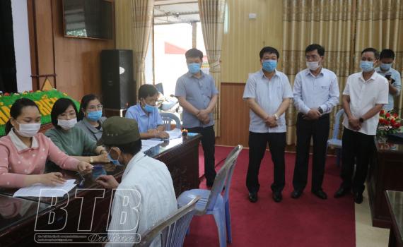 Kiểm tra công tác giải phóng mặt bằng dự án tuyến đường từ thành phố Thái Bình đi cầu Nghìn