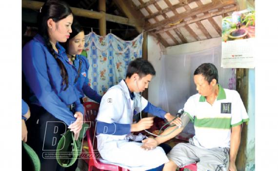 Tuổi trẻ Thái Thụy: Chung sức xây dựng nông thôn mới