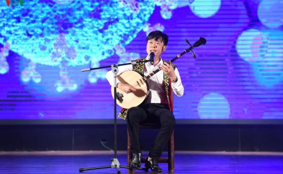 """Thái Bình có 02 tác phẩm đoạt giải """"Tác phẩm âm nhạc dân gian tuyên truyền dịch Covid - 19"""""""