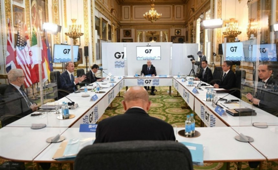 G7 họp trực tiếp sau 2 năm gián đoạn, thảo luận các vấn đề liên quan Trung Quốc