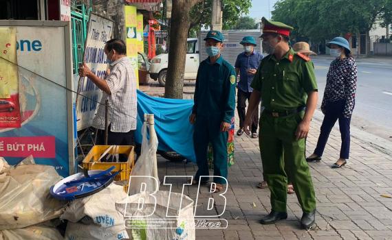 Kiến Xương: Bảo đảm an ninh trật tự cho cuộc bầu cử
