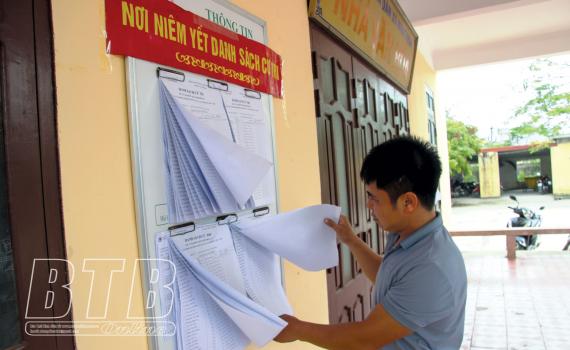 Nam Thịnh: Tích cực tuyên truyền bầu cử