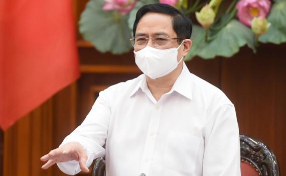 Thủ tướng yêu cầu chấn chỉnh, nâng cao hiệu quả công tác phòng, chống dịch Covid-19.