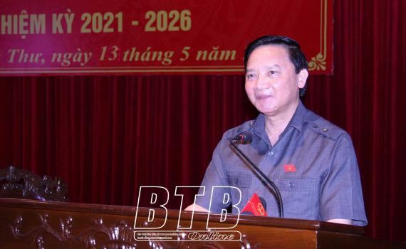 Tiếp xúc cử tri với người ứng cử đại biểu Quốc hội khóa XV tại các huyện Quỳnh Phụ và Vũ Thư