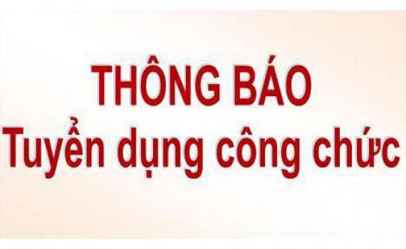 Thông báo Tuyển dụng công chức tỉnh Thái Bình năm 2021