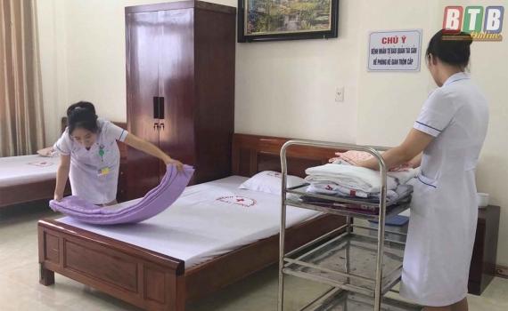 Bệnh viện Phụ sản Thái Bình khai trương thêm 25 giường điều trị theo yêu cầu - Báo Thái Bình điện tử