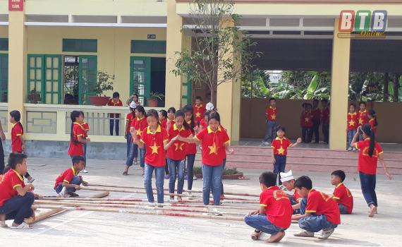 Hưng Hà: Trên 12.000 học sinh đạt danh hiệu cháu ngoan Bác Hồ mỗi năm