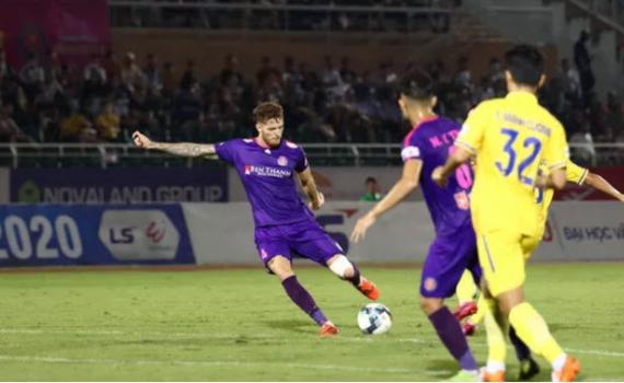 Kết Quả Bảng Xếp Hạng V League 2020 Clb Sai Gon Vững Ngoi đầu Than Quảng Ninh Thắng Tại San Hoa Xuan Bao Thai Binh điện Tử