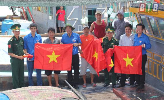 Tuổi trẻ khu vực biên giới biển Thái Bình: Nhiều hoạt động hướng về cơ sở