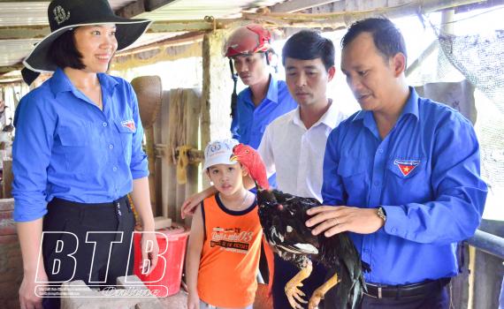 Thanh niên Thái Thụy: Thi đua phát triển kinh tế