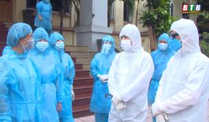 Các đồng chí lãnh đạo tỉnh kiểm tra, chỉ đạo công tác phòng, chống dịch tại một số cơ sở y tế, khu cách ly