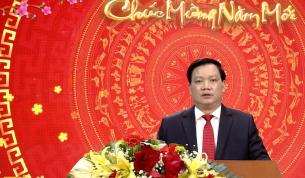 Đồng chí Chủ tịch UBND tỉnh chúc Tết cán bộ, đảng viên, nhân dân trong tỉnh, những người con xa quê, người nước ngoài đang học tập và làm việc tại Thái Bình