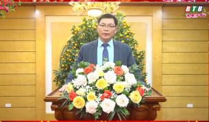 Lời chúc Tết của đồng chí Phạm Hồng Tùng, Tỉnh ủy viên, Bí thư Huyện ủy Tiền Hải